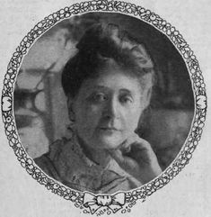 Mary French Sheldon--publisher, author & explorer. 1891 explored unaccompanied around Lake Chala in Africa & was among the 1st women to be a fellow of the Royal Geographical Society.