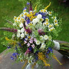 Luční+svatební+kytice+Svatební+kytice+z+čerstvé+Veronicy,Matricarie+camille,+Bouvardie...+Na+objednání+do+14+dnů+Osobní+odběr+kód+938