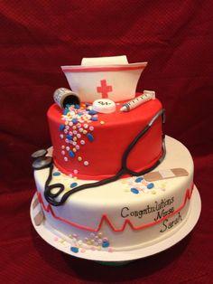 Nurse graduation cake — Graduation