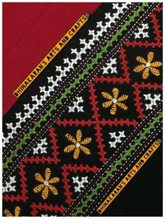 Buy Gulmohar Kutchwork Blouse Piece Embroidery On Kurtis, Hand Embroidery Dress, Kurti Embroidery Design, Embroidery Neck Designs, Embroidery Works, Hand Embroidery Stitches, Crewel Embroidery, Kutch Work Saree, Neck Patterns For Kurtis