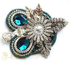 My Brooches 1 - Beaded Digest