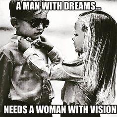 Relationship goals. Team work!