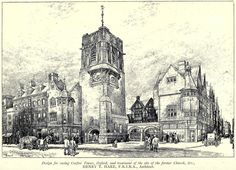 Design for Carfax Tower, Oxford