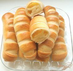 Полосатые булочки с плавленым сыром » Впузо - Вкусные кулинарные рецепты с фото, блюда на каждый день!