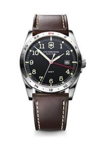 Victorinox Swiss Army Infantry GMT Leather Strap Quartz Watch 241648 for  sale at OC Watch Company watch store in downtown Walnut Creek California. 77d94f4b8e8