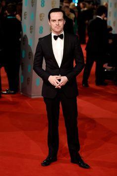 Pin for Later: Toutes les Stars du Moment Étaient à Londres Pour les BAFTA Awards Andrew Scott