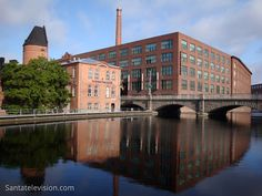 Photo: town of Tampere in Finland - Tampere is know for its industrial history - beautiful Finnish city - Picture of Tampere tourism Helsinki, Lappland, Cities In Finland, Big Town, Scandinavian Countries, San Fransisco, Baltic Sea, Places To See, Photos