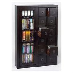 Lovely Library Media Storage Cabinet