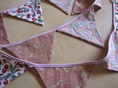 ...papelhilo-blog...: guirlande rose et ses petites astuces