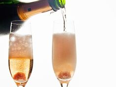 Champagne Cocktail by Kitchen Riffs
