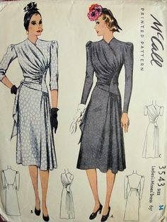 McCall 3543 - Vintage Sewing Patterns - Wikia
