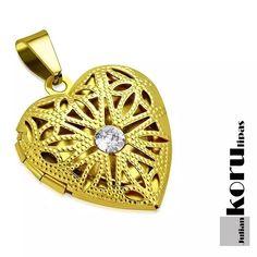 Sydän Kaulakoru FligraaniGold 45cm - Julian Korulipas #sydänkoru #sydänmedaljonki Pocket Watch, Watches, Accessories, Fashion, Moda, Fashion Styles, Pocket Watches, Clocks, Clock