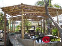 Nice BAMBOO PATIO COVERS | Bamboo Patio Cover Model 1