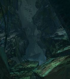 The Hollow_beginning, Titus Lunter on ArtStation at http://www.artstation.com/artwork/the-hollow_beginning