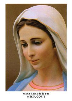 """Maria Reina de la Paz- Medjugorje, una ciudad de Bosnia-Herzegovina, 6 videntes ven a la Santísima Virgen, la """"Gospa"""", desde el 24 de junio 1981."""