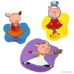 Piggy Chefs - Susie Lee Jin