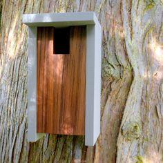 Vogelhaus Modern minimalistisch-der Bird-Box von twigandtimber