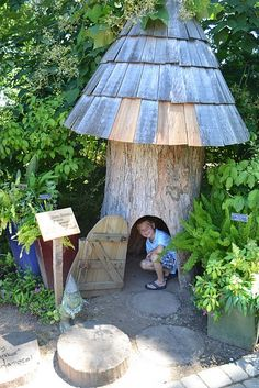 a Gnome's home. Love it!