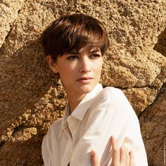 Short Hair Cuts, Short Hair Styles, Pixie Cuts, Franck Provost, French Summer, Long Pixie Hairstyles, Colouring Pics, Summer Looks, Hair Inspo