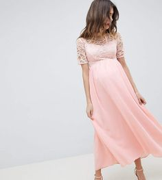 Queen Bee High Neck Cutwork Lace Top Maxi Dress. #ad