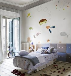 dream under-water themed boys room