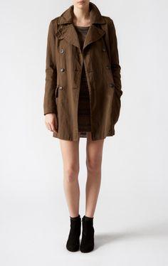 Cotton Linen Coat