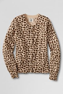 Stella McCartney Kid's Animal Print Cardigan (Green) | Kids ...