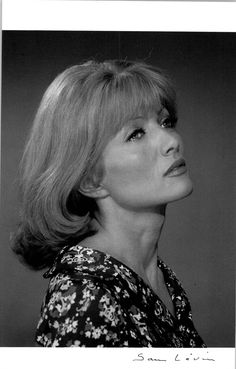 Stephane Audran, born Colette Suzanne Dacheville - French film and TV actress. Stephane Audran, Claude Chabrol, The Big Red One, French Directors, Brideshead Revisited, Luis Bunuel, Oscar Winning Films, Film Le, The Sun Also Rises