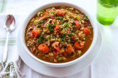Black Eyed Peas & Buckwheat Vegetable Soup by Parsley In My Teeth #vegan #vegetarian