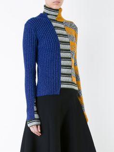 Maison Margiela patchwork knit sweater