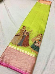 Pure silk kota digital patch work sarees Price:5500 Order what's app 7995736811