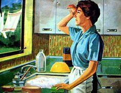 50's housewife