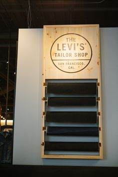 First Look: Levi's New S.F. Flagship #refinery29