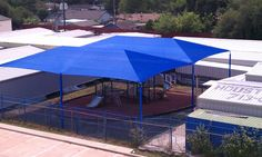 Rectangular Shade 62x55 from DunRite Playgrounds. http://www.dunriteplaygrounds.com