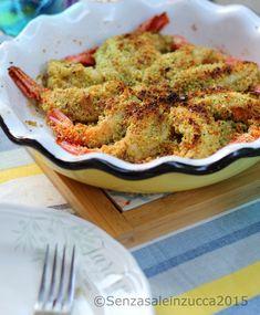 Senza Sale in Zucca: Gaberoni gratinati ai pistacchi