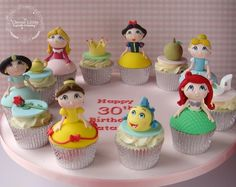Baby Princesses - The Clever Little Cupcake Company