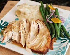 Turkey Breast {New} ~~Electirc Pressure Cooker~~ http://peggyunderpressure.com/2014/11/turkey-breast-electric-pressure-cooker-recipe-new-recipe/