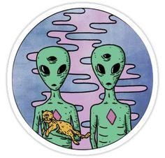 trippy alien pillow from RageOn! Alien Drawings, Trippy Drawings, Easy Drawings, Alien Painting, Trippy Painting, Trippy Alien, Alien Art, Alien Tattoo, Alien Aesthetic