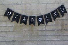 Shop for skull on Etsy, the place to express your creativity through the buying and selling of handmade and vintage goods. Flag Banners, Flags, Dead Ends, Halloween Gifts, Holiday Fun, Burlap, Texas, Skull, Awesome