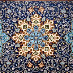 """Handmade Tile Pattern Ideas From Iranian Artistic Minds"" Islamic Art Pattern, Arabic Pattern, Persian Pattern, Oriental Pattern, Tile Patterns, Pattern Art, Textures Patterns, Pattern Ideas, Islamic Architecture"