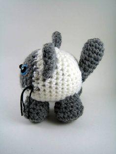 neat way of making a cute animal