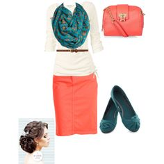 Love these colors 2gether!!;) by abbyrice2000 on Polyvore