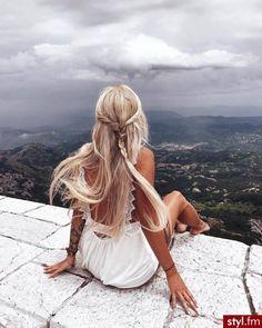 hair inspo from Hair Inspo, Hair Inspiration, Ombre Highlights, Good Hair Day, Mermaid Hair, Beach Hair, Pretty Hairstyles, Hair Looks, Blonde Hair