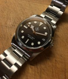 Modding the Invicta 8926 and watch brotherhoods Invicta 8926, Tudor Black Bay, Beautiful Watches, Fashion Watches, Heavy Metal, Rolex Watches, Accessories, Heavy Metal Music