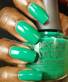 Morgan Taylor Nail Lacquer, Later Alligator | Nails Beautiqued