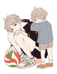 Suga telling his past self that. Haikyuu is an AMAZING anime, even if you don't even like those types of anime it's amazing. Sugawara Koushi, Daisuga, Nishinoya, Haikyuu Fanart, Haikyuu Ships, Haikyuu Anime, Kageyama, Haikyuu Volleyball, Volleyball Anime