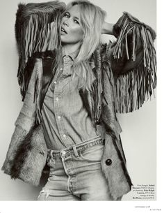 Claudia Schiffer Is All Denim, Lensed By Gregory Harris For Vogue Paris September 2018 — Anne of Carversville Uk Fashion, Denim Fashion, Daily Fashion, Fashion Photo, Girl Fashion, Claudia Schiffer, Muse Magazine, Vogue Magazine, Jimmy
