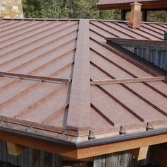 Western Rust Coated Metals Group Standing Seam Metal