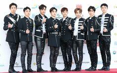 170603 EXO 2017 Dream Concert Red Carpet #Chanyeol #Kyungsoo #Kai #Suho #Chen #Xiumin #Baekhyun #Sehun