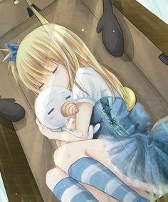 Lucy - Fairy Tail. C'est adorable :')